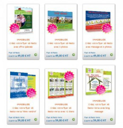 catalogue flyers immobilier